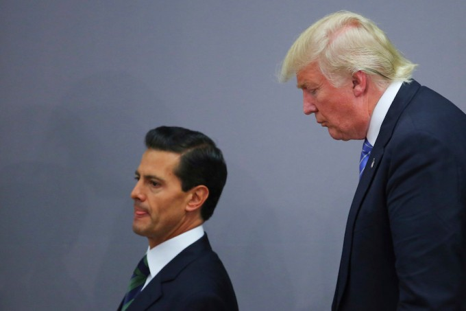 President Pena Nieto Receives Donald Trump
